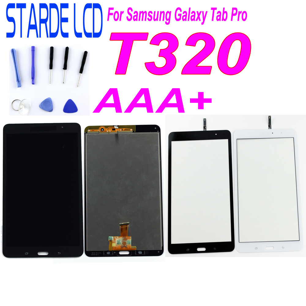 STARDE Replacement LCD For Samsung Galaxy Tab Pro T320 SM-T320 Wlan LCD Display Touch Screen Digitizer Assembly