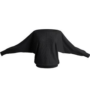 Image 3 - Donne di Ballo di Balletto Maglione di Inverno Adulto Manica Lunga Knit Wrap Danza Magliette E Camicette Balletto Warm Up