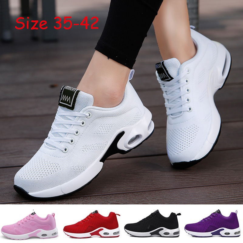 MAIJION Sneakers Sports-Shoes Air-Cushion Female Outdoor Breathable Women Lace-Up Gym