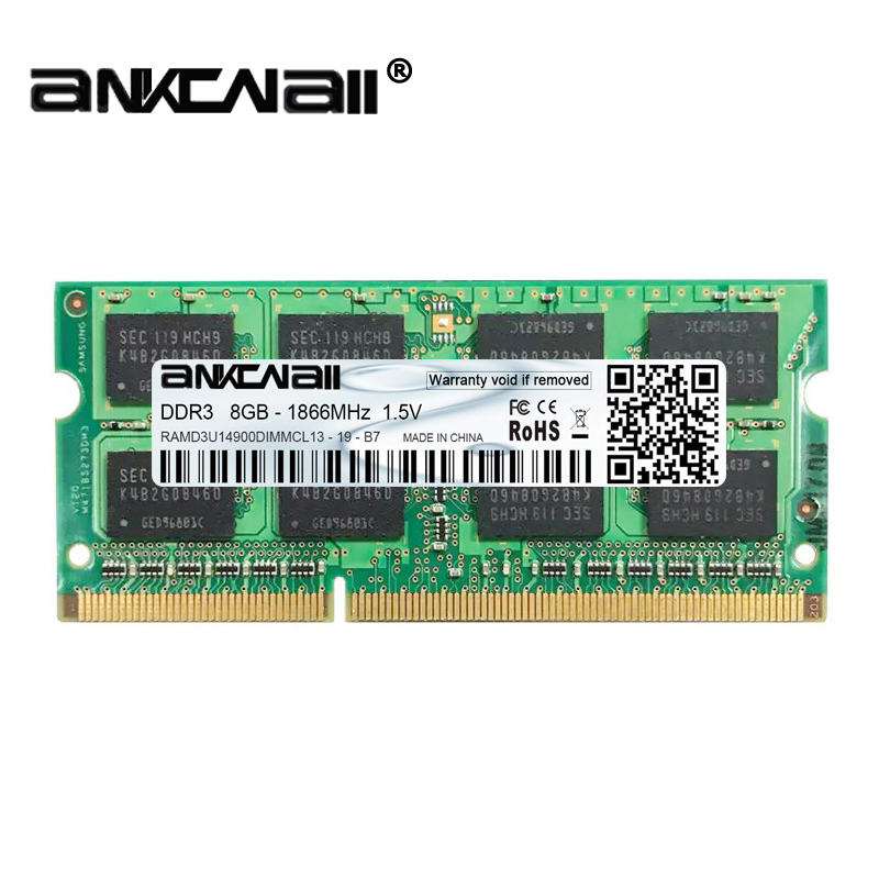 New DDR3L 4GB /8G Laptop RAM Memory For Intel System High Compatible 11