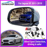 Sistema de Monitoreo de punto ciego para coche, Sensor de Radar de ondas de 24GHZ, con luz LED de espejo de advertencia, Para Jaguar XF 2011-2019 BSA BSM BSD