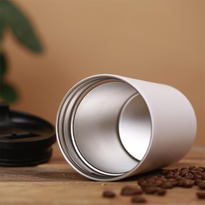 Image 5 - Xiaomi LAVIDA Electric Stainless Steel Coffee cup 427ML Grinder Double layer filter Mini Kitchen Grinder Coffee Bean Grind Cafe