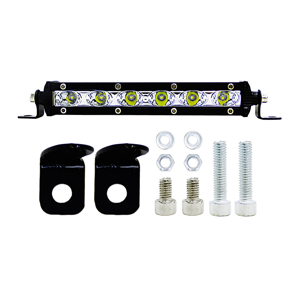 Car Styling Spot Combo Light 18W 36W 12V 6000K LED Work Light Bar For Trucks Forklifts SUV Off-road Engineering Vehicles image