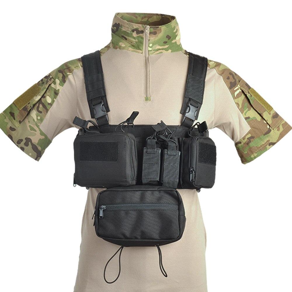 1Pcs Hunting Tactical Vest Molle Clip Pouch Fast Clip Pouch for Scissor
