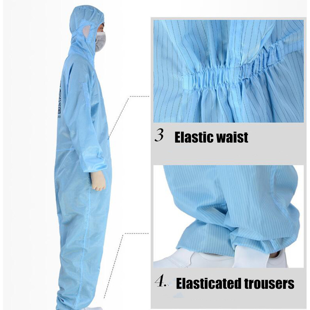 Disposable Protective Clothing as Coverall Medical Uniform and Isolation Suit for Nurse and Doctors 12
