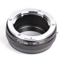 Anillo adaptador de MD NEX para lente Minolta MC/MD a Sony NEX 5 7 3 F5 5R 6 VG20 e mount E