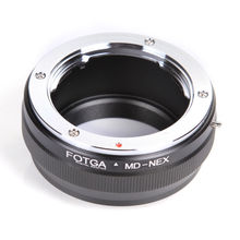 MD NEX Adapter Ring Cho Minolta MC/MD Ống Kính Sony NEX 5 7 3 F5 5R 6 VG20 E núi E Mount Adapter