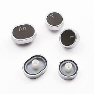 Image 5 - 104 مفاتيح ريترو قبعات مستديرة مزدوجة النار لتقوم بها بنفسك آلة كاتبة Keycap للوحة المفاتيح الميكانيكية الخلفية غطاء مفتاح دائري