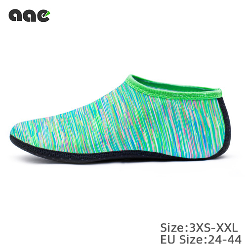 Outdoor Unisex Beach Sandals Diving Snorkeling Shoes Soft Slides Flats Non-Slip Shoes Slippers Swimming Water Breathable Shoes