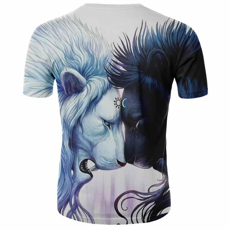 Estate 2020 nuovo stile fresco hip-hop degli uomini di 3D stampato T-Shirt gli uomini e le donne re leone T-Shirt Harajuku camicia degli uomini di S-4XL