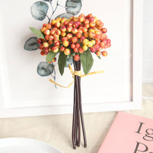 Artificial Berry Fake Red Berries Christmas Flower New Years Decor Tree Decoration For Wedding Home