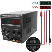 30V 10A DC Adjustable Power Supply 110V/220V Switching Laboratory Bench Power Source Digital Voltage Stabilizer