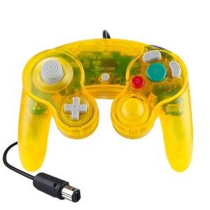 Image 4 - Joypad Gamepad cablato trasparente per Nintendo per Controller NGC utilizzato per la porta della Console del Computer MAC