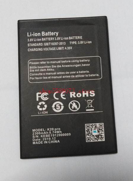 XGODY K20 pro Phone battery 2800mah for XGODY K20 pro Phone In Stock Latest Production High Quality Battery+Tracking Number