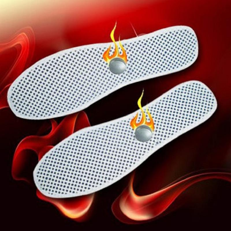 Unisex Healthy Tomalin Heating Principle Magnetic Insoles Foot Care Spontaneous Heat Comfortable Winter Travel Insoles Dropship
