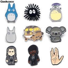 Geekcoco Funny Enamel Pins Brooches Cute Denim Shirt Lapel Pin Bag Punk Cool Jewelry Gift for Friends RK0015 geekcoco funny enamel pins brooches cute denim shirt lapel pin bag punk cool jewelry gift for friends rk0015