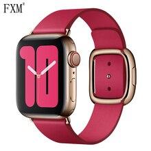 цена на Modern Buckle Strap for Apple Watch Band 42mm 38mm Modern Style Bracelet Wrist Band Accessories 4 44mm 40mm Iwatch Series 3 2 1