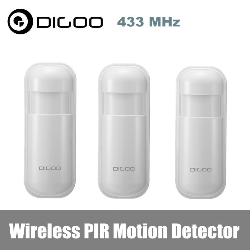 Digoo detector de movimento DG-HOSA 433mhz pir, sensor humano sem fio compatível com hosa maha 2g 3g sistema de alarme,