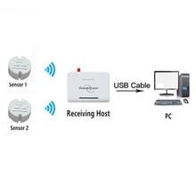 Greenhouse temperature controller USB temperature data logger 433 temperature sensor 868mhz/915mhz wireless monitoring low power