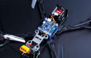Image 4 - IFlight Nazgul5 227 мм 5 дюймов 4S 6S плюс небольшой гоночный Дрон с видом от первого лица с управлением от первого лица без контроллера с XL5 V4 рамка/XING E 2207 мотор/Caddx Ratel зарядные устройства для камеры с видом от первого лица комплект