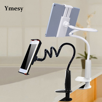 Ymesy nowy kreatywny leniwy stojak obsługuje telefony komórkowe i tablety IPad rozciągliwe zaciski wielofunkcyjne zamki śrubowe tanie i dobre opinie CN (pochodzenie)