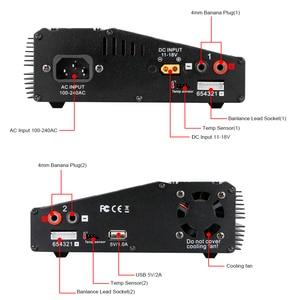 Image 5 - HTRC H120 แบตเตอรี่Chargerคู่เอาต์พุต 50W/70W 100W * 2 10A AC/DC RC balance DischargerสำหรับLilon/LiPo/LiFe/LiHV Pb/
