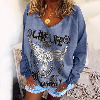 Hoodies Women Plus Size Hippe Animal Print Sweatshirt Tops Ladies Casual Baggy Clothes 2020 Sudaderas Moletom Feminino Толстовка image