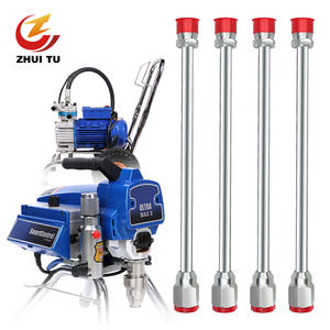 ZHUI TU Airless Spray Gun Nozzle Tip Extension Rod Paint Latex Paint Sprayer Tip Extension Tool For Graco Spray Gun 30-180cm