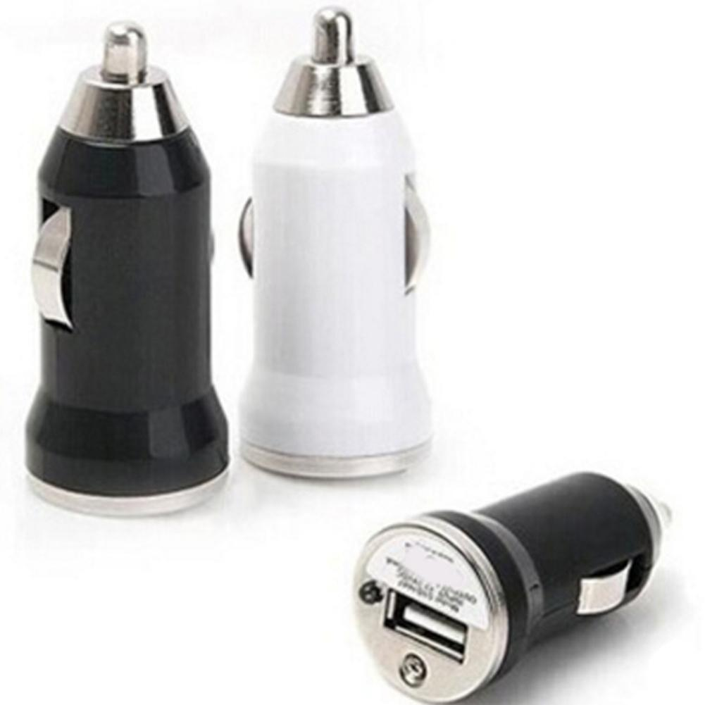 Portable Universal Mini Dual USB Car Fast Charger Adapter For IPhone Samsung Tablet Pad  Car Electronics Accessories