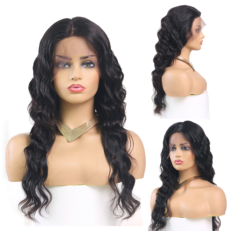 13x4 Lace Front Human Hair Wigs For Black Women KEMY HAIR PrePlucked Brazilian Deep Wave Lace Front Wig With Baby Hair Remy Hair