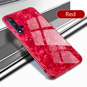 Brokat szkło etui na telefon do Huawei P30 Lite P20 Mate 20 30 10 Lite Honor 20s 20 Pro 8X Y9 2019 Nova 5t 5i 3i 6 5G etui marmurkowe