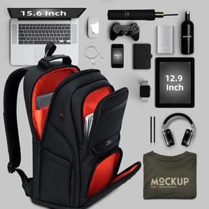 Image 4 - Fenruien אופנה גברים תרמיל רב תכליתי עמיד למים 15.6 אינץ תיק מחשב נייד USB טעינת נסיעות תיק מזדמן נשים ילקוט