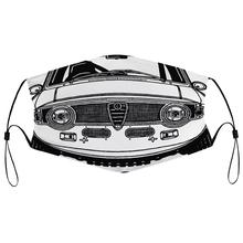 Maska przeciwpyłowa z filtrem Alfa Romeo Giulia Sprint Gta grafika drukowana na męskiej męskiej osłona na twarz tanie tanio Poliester NONE Chin kontynentalnych Drukuj men women kid