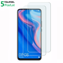 5Pcs Tempered Glass For Huawei P Smart Z Screen Protector 9H 2.5D Phone On Protective Glass For Huawei P Smart Z Glass