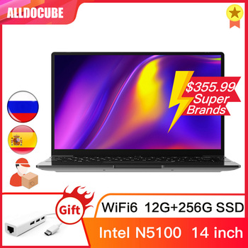 Alldocube GT Book 14 inch Windows 10 N5100 Quad Core WiFi6 12GB RAM 256GB SSD  IPS Notebook laptop computer WIN10 PC GTBOOK 1