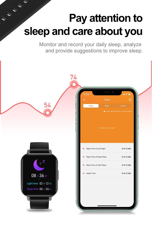 cheapest LIGE Phone Smart Watch Men Bluetooth Call Waterproof Sports Fitness Watch Health Tracker Weather play music smartwatch Women