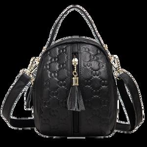 Image 5 - Genuine Leather Crossbody Bags for Women Fashion Female Bag Tassel Single Shoulder Bag Girls Small Purses and Handbags Designer