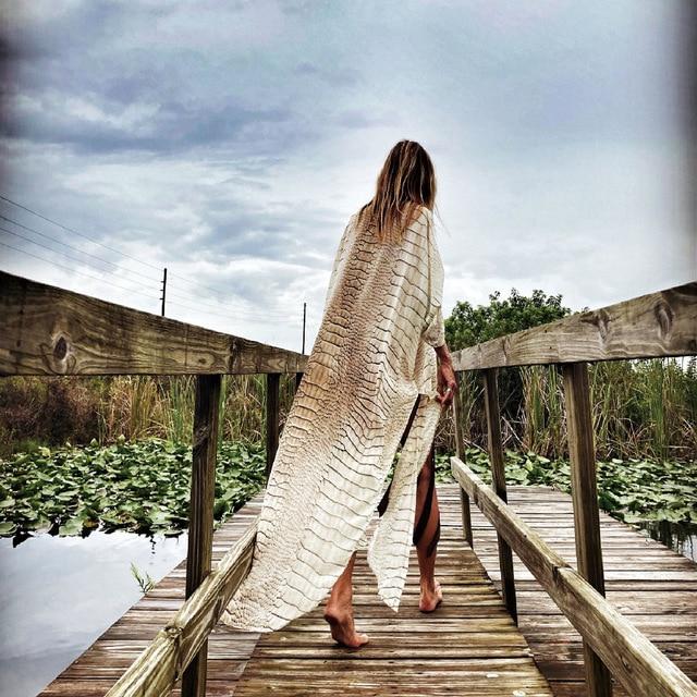 Chiffon Cover-Up Dress