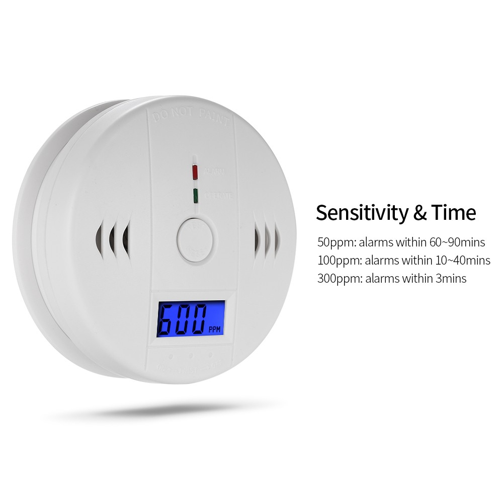 Image 2 - Carbon Monoxide Detector Independent CO Gas Sensor LCD Display 85dB Warning Alarm-in Carbon Monoxide Detectors from Security & Protection
