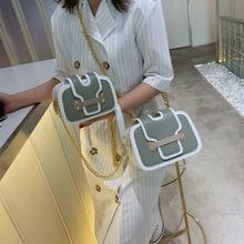 JIULIN çanta moda perçin zincir taç çanta omuz çantası Crossbody Quiled yüksek kaliteli çanta