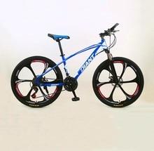 Bicicleta de Montaña de 24 pulgadas y 26 pulgadas, bici de carretera de velocidad Variable, absorción de impacto, para hombres y mujeres, competición de adultos