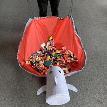 2021 SlideAway Toy Clean-up worek do przechowywania wielofunkcyjny przenośny Play MatToys Organizer torba do zabawy kosz zintegrowany kosz w kształcie wiadra do przechowywania tanie tanio POLIESTER CN (pochodzenie) 50cm-150cm Unisex SOFT Do nauki Sport BRAK MUZYKI 0045 none Cała Other 13-24 miesiące 6 lat