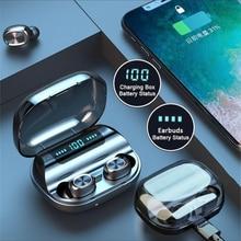 TWS Pro Wireless Bluetooth 5.0 Headphone Sport Game In-Ear Earphones Touch Contr