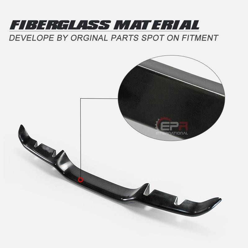 Pour Honda Civic FK8 2017 + BLZ Style FRP Fibre de verre garniture arrière en Fiber de verre pare-chocs diffuseur garniture Kit séparateur de Fiber de verre pièce de réglage