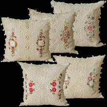 Ручной работы в стиле бохо Наволочка на подушку размером 45*45
