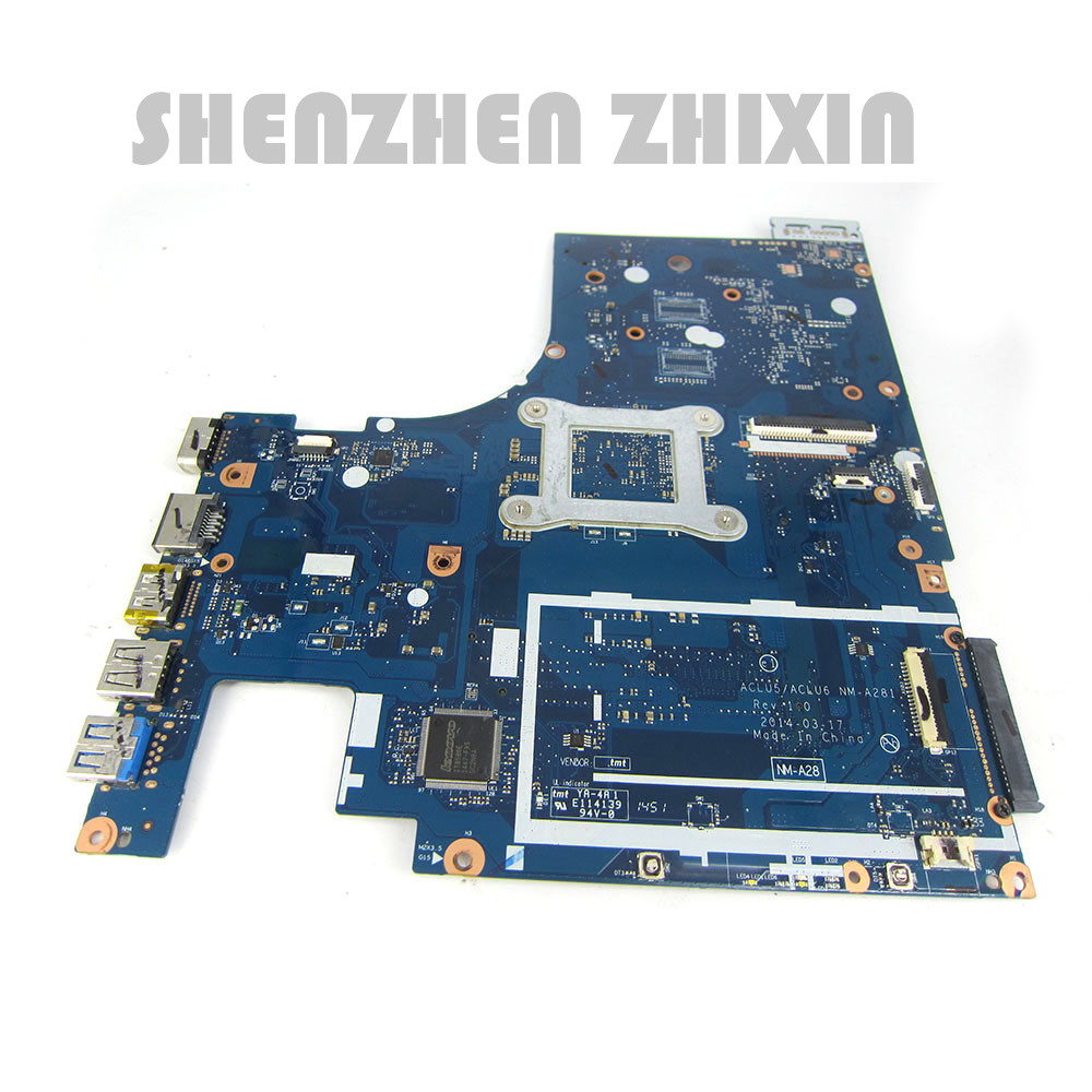 For Lenovo G50-45 Laptop Motherboard A8-6410 CPU ACLU5/ACLU6 NM-A281 5B20G38065 Mainboard 2