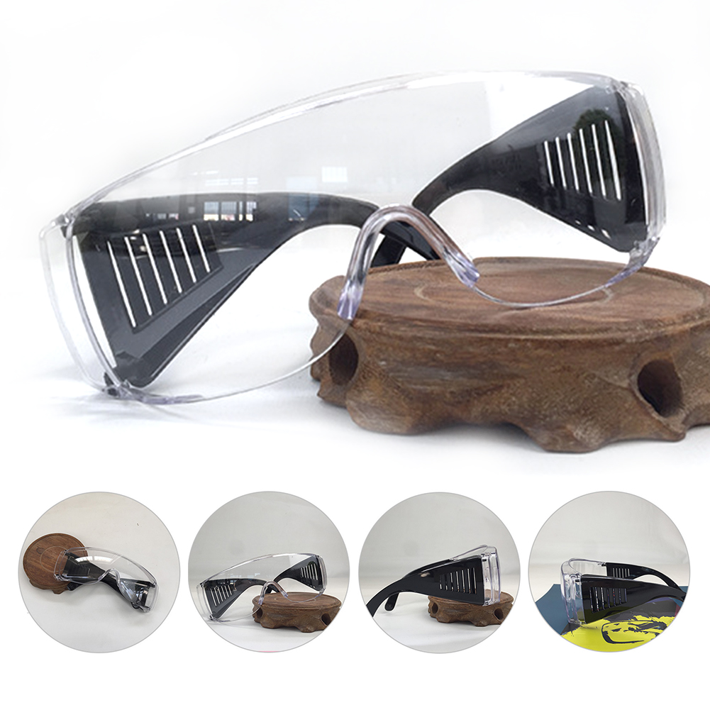 Louver-Style-Glasses PC Safety Shatterproof Protective Multi-Purpose Anti-Shock Adult