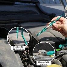 Автоматический манометр автомобиля тестовый светильник Длинный зонд ручка непрерывность автомобиля напряжение автомобиля тест er автомобильные цепи системы DC 6 в 12 В 24 в инструменты