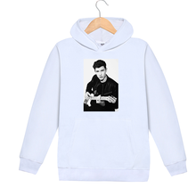 Women Hoodies Shawn Mendes Character Print Plus Size Hooded