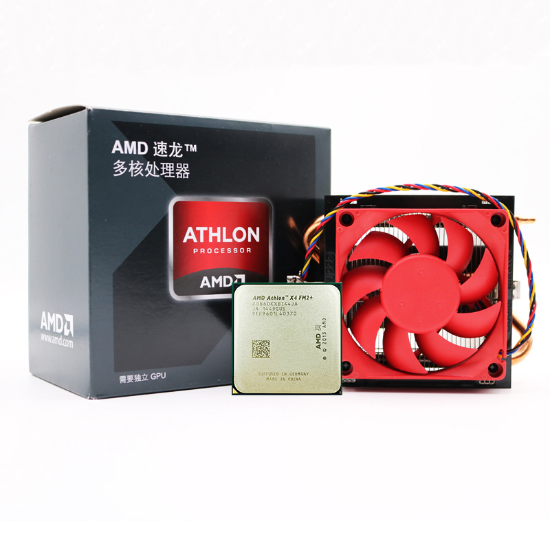 AMD Contain CPU Desktop-Processor Computer X860k-Socket 860-K Quad-Core Ghz PC FM2 Cooler-Fan